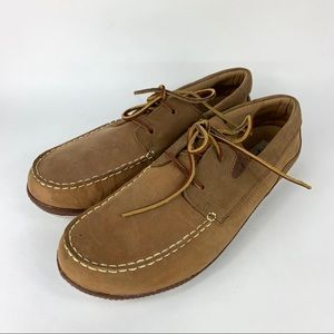 Olukai Mano Boat Deck Loafer Shoes Men Size 11